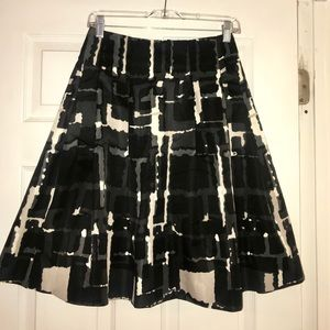 NWT Express A line pleated skirt